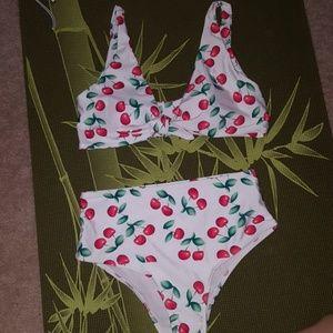 Vintage cherry bikini
